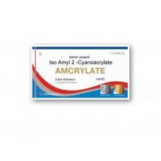 Tissue Adhesive AMCRYLATE  Iso Amyl 2-Cyanoacrylate 0.25ml, Sterile