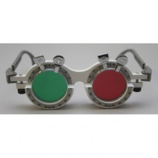 Drop-in Trial Frame with Red/Green Trial Lenses - MFBF